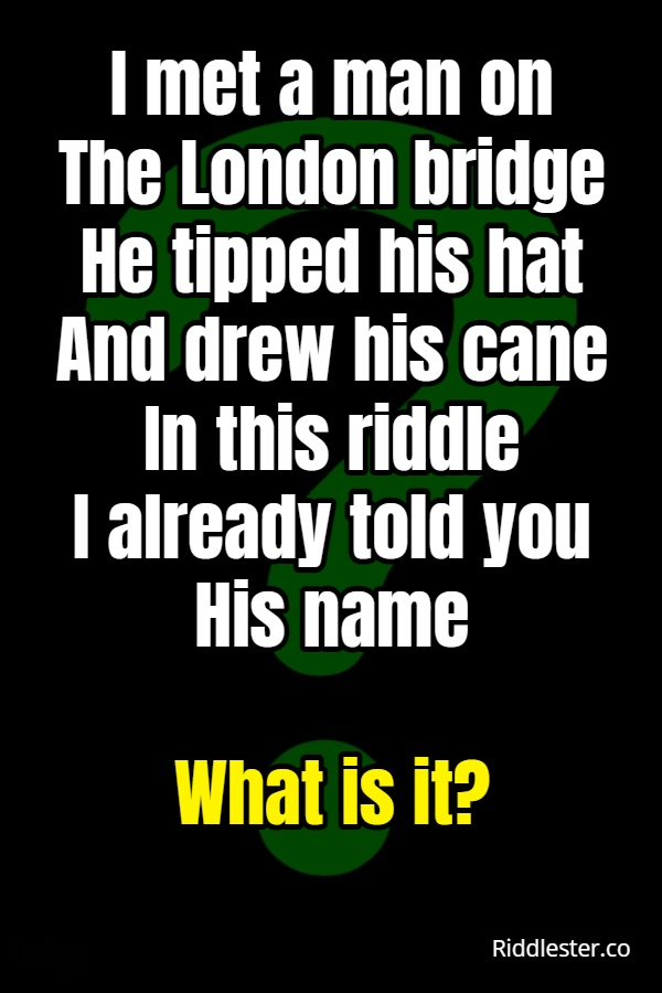name riddle