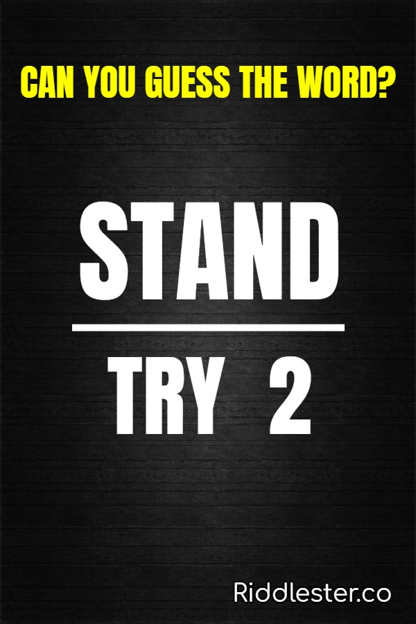 stand try 2