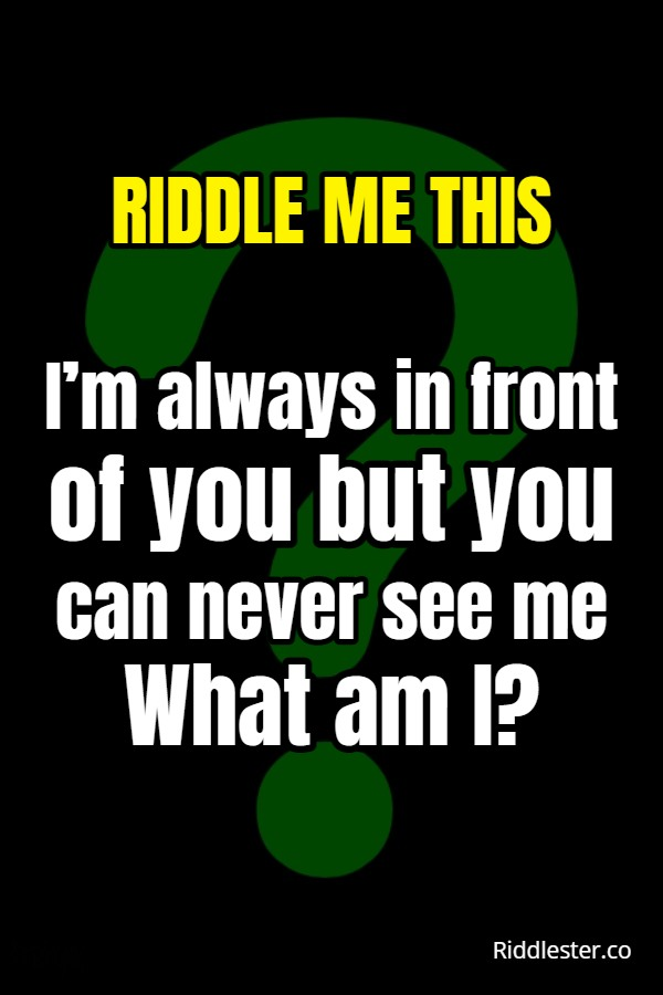 this riddle