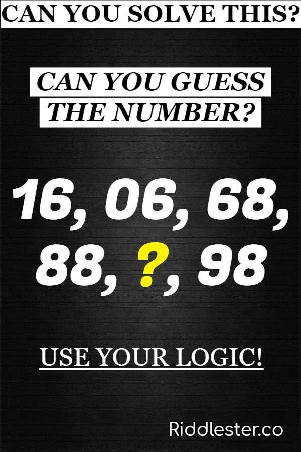 number riddle