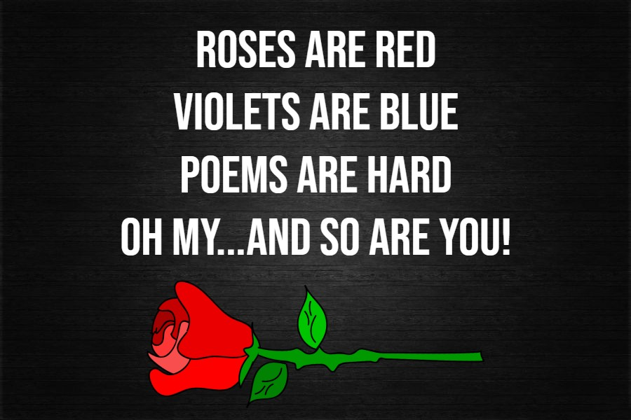 roses are red violets blue poems funny