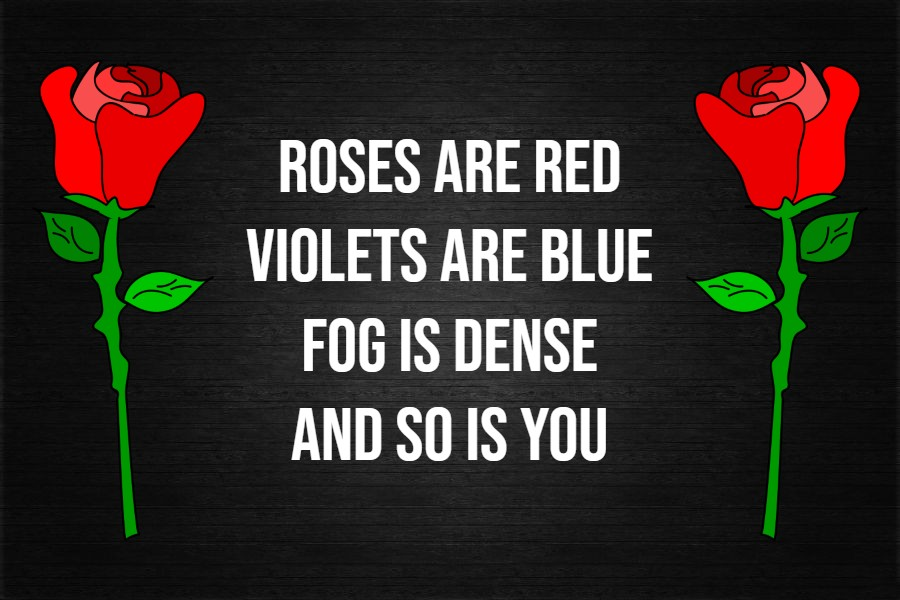 roses are red violets blue poems